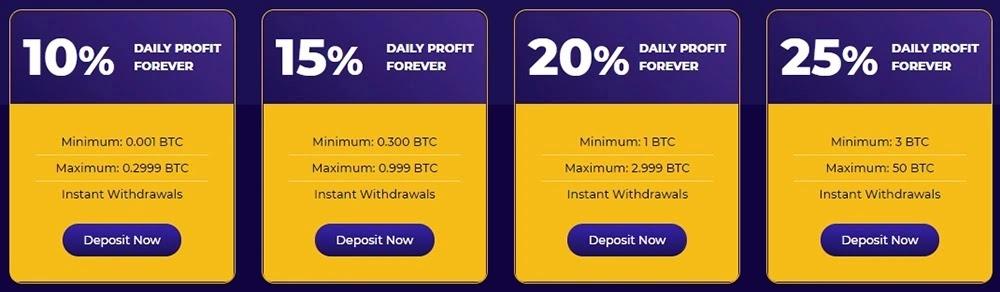 Инвестиционные планы MinerPower
