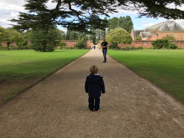 Squidge at Tredegar House on his 2nd birthday