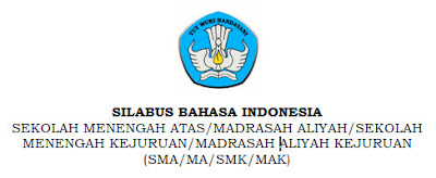 Download Silabus Bahasa Indonesia SMA