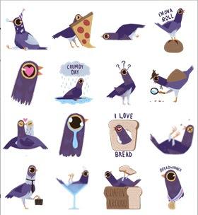 Burung Purple 'Menyerang' di Facebook
