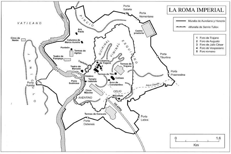 APASIONADOS DEL IMPERIO ROMANO: MAPA DE LAS AMPLIACIONES DE LAS ...