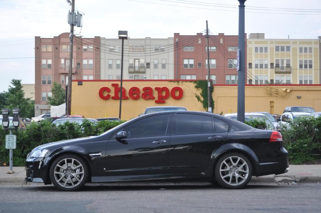 The Automotive Way: Minneapolis Street Sighting: Pontiac G8 GXP