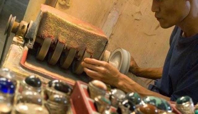 Proses Pembuatan Batu Akik