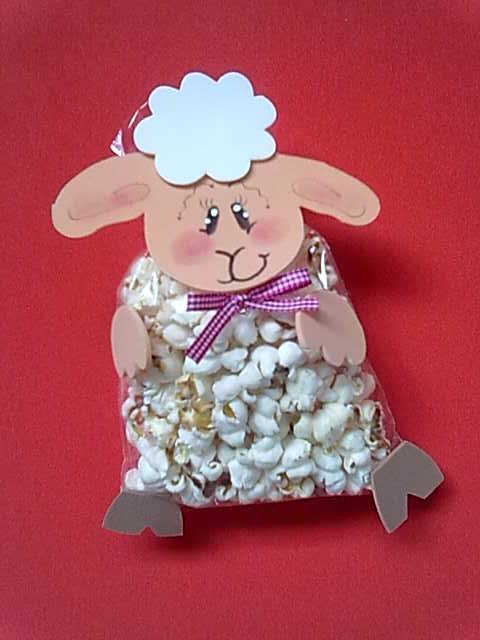 Educa o em alto grau lembrancinha p scoa crist ovelhinhas for Porta kinder