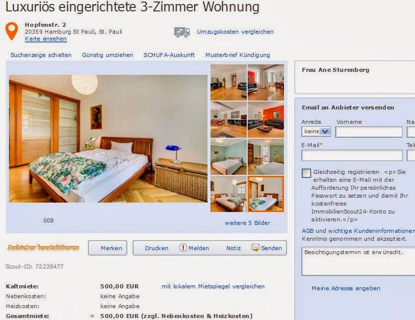 Wohnung Hamburg St Pauli