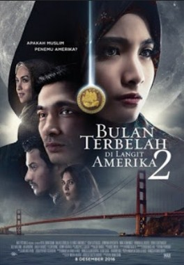 Download Film Indonesia Bulan Terbelah di Langit Amerika 2 (2016)