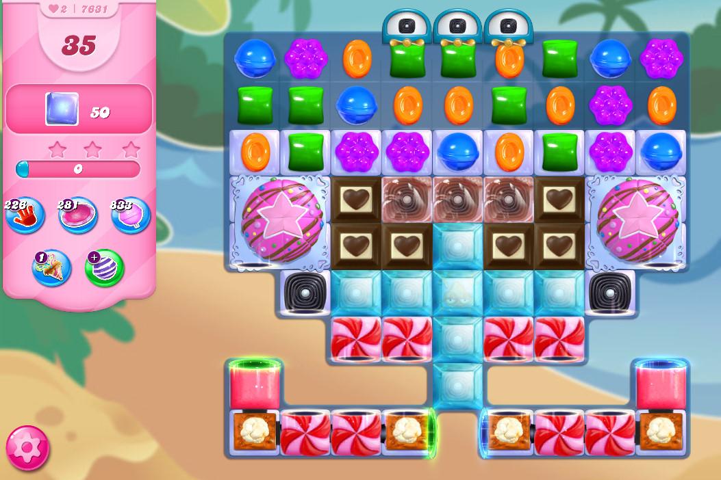 Candy Crush Saga level 7631