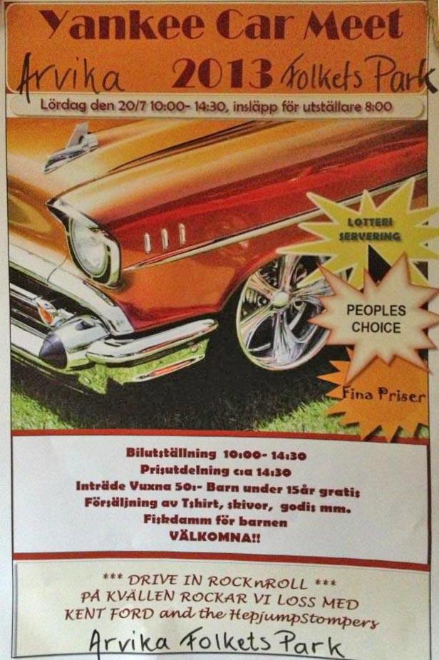 5c06d3da558 Yankee Car Meet 2013 - Arvika Folkets park