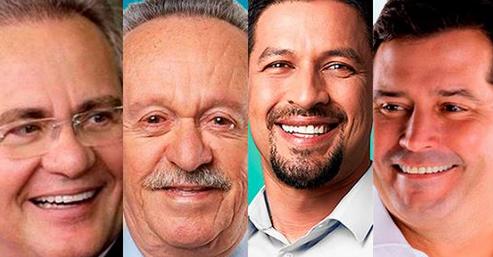 Ibope/Senado: Rodrigo Cunha 33%, Renan 27%, Quintella 15% e Biu 14% dos votos válidos