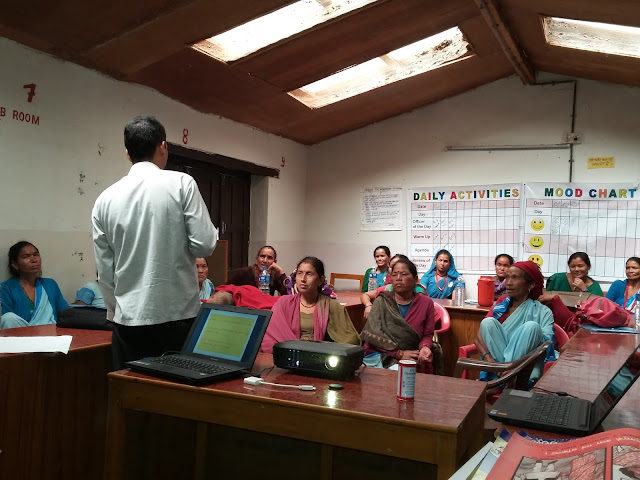 Mothers group training Nepal