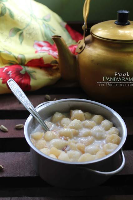 sweet paniyaram