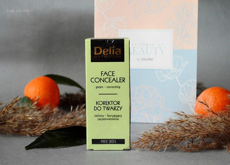ShinyBox The Power of Beauty - Delia Korektor do twarzy zielony Korygujący