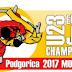 CAMPEONATO DE EUROPA SUB-23 PODGORICA 2017. <BR>10, 11 y 12 de noviembre.