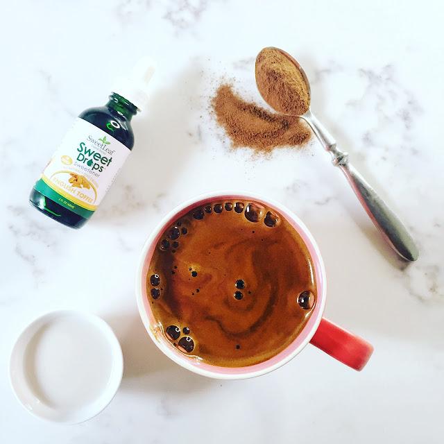 Healthy drink recipe: hot coconut latte