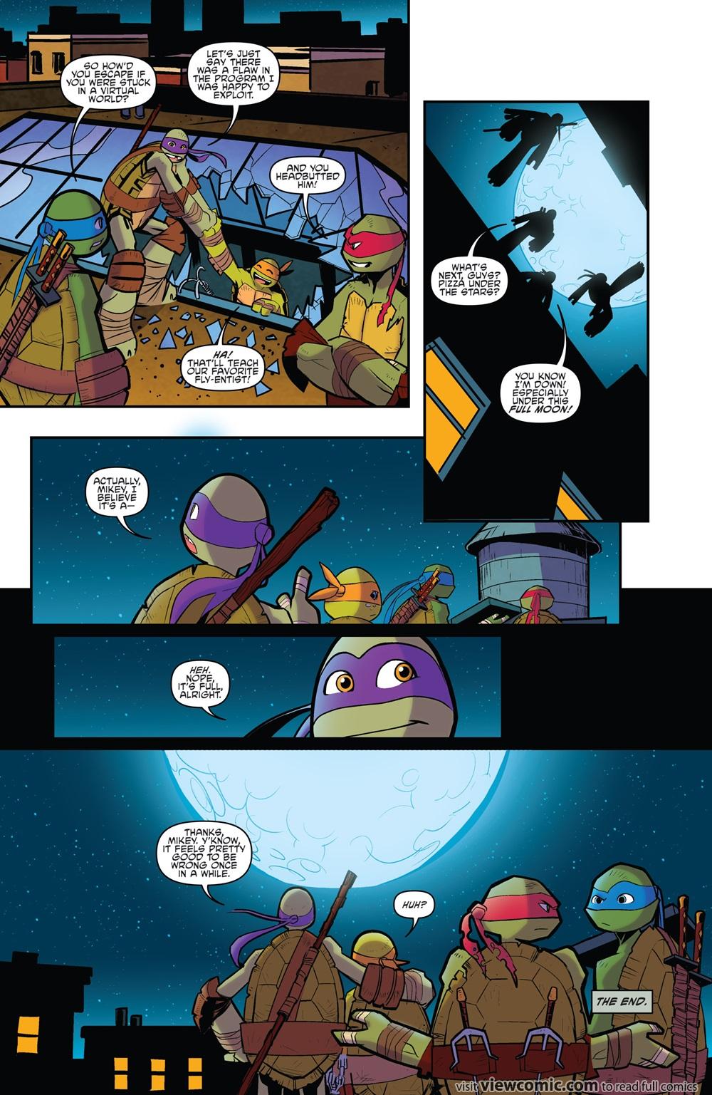teenage mutant ninja turtles u2013 amazing adventures viewcomic