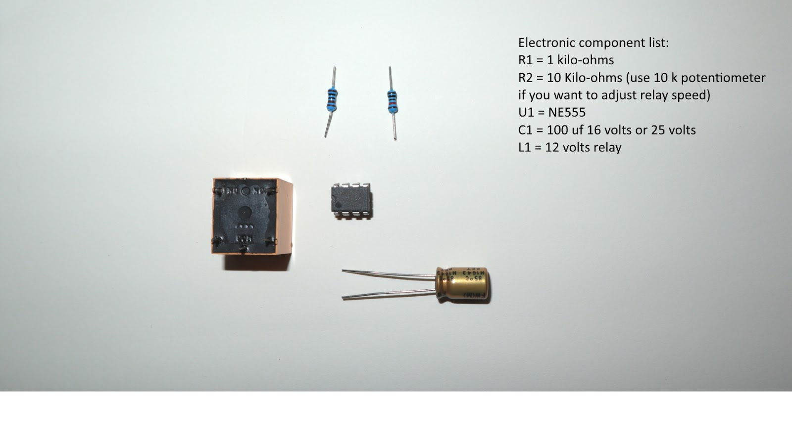 medium resolution of electronic led flasher circuit schematic