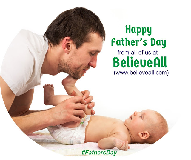 Happy Father's Day To All The Daddys [#FathersDay]