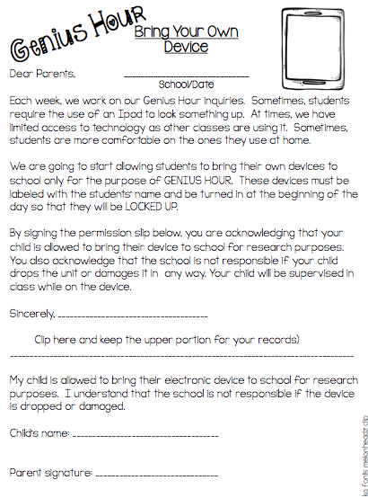 Genius Hour - End of the Year - The Write Stuff Teaching