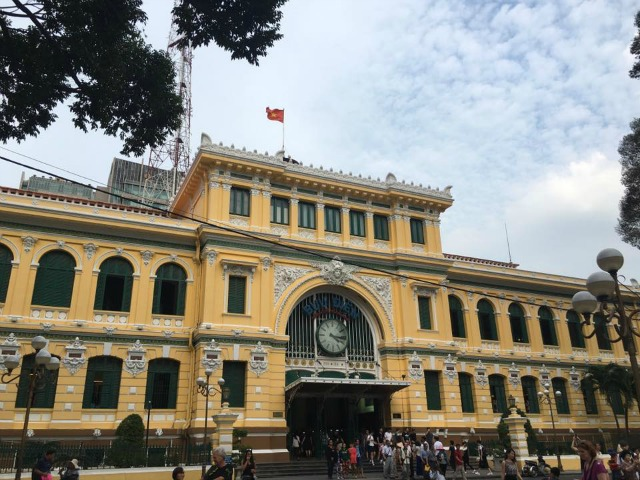 Saigon Central Post Office in Ho Chi Minh City Vietnam