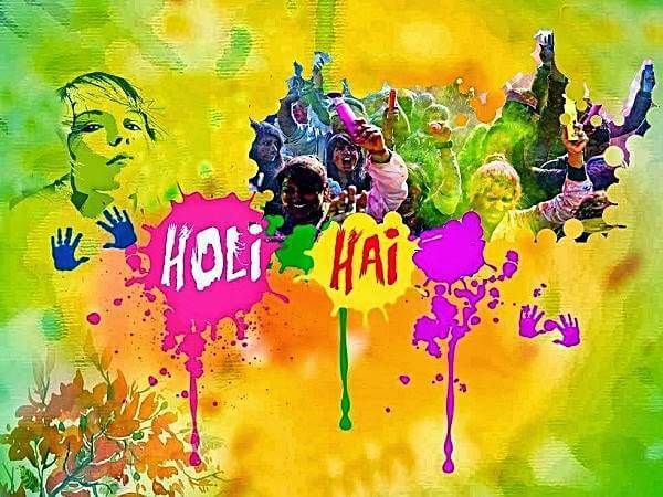 Happy Holi HD Cover Images for Facebook