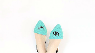 DIY decorar tus zapatos con cuentas o abalorios