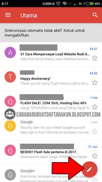 Cara Buat CV & Mengirim Lamaran lewat Email Gmail di Hp ...