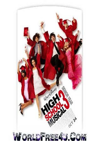 Poster Of High School Musical 3 2008 In Hindi Bluray 720P Free Download