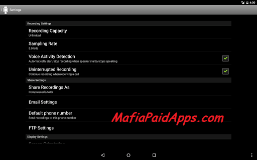 Dictadroid Voice Recorder v1 0 8 Apk | MafiaPaidApps com | Download