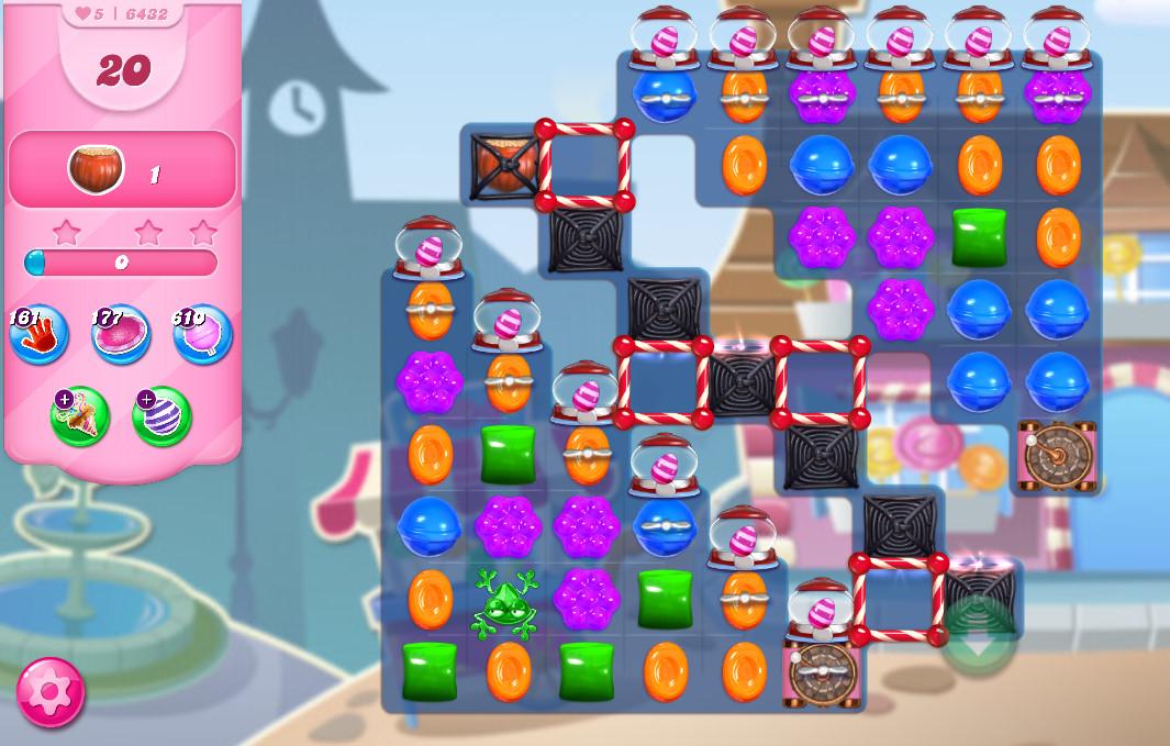 Candy Crush Saga level 6432