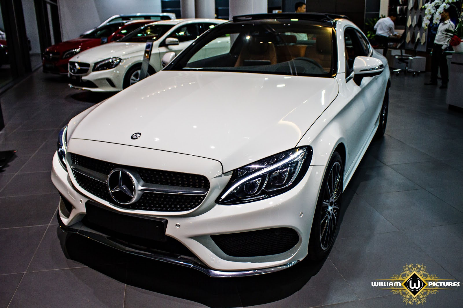 Mercedes Benz C300 Coupe 2016