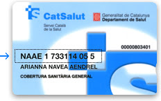 Cataluña tarjeta sanitaria
