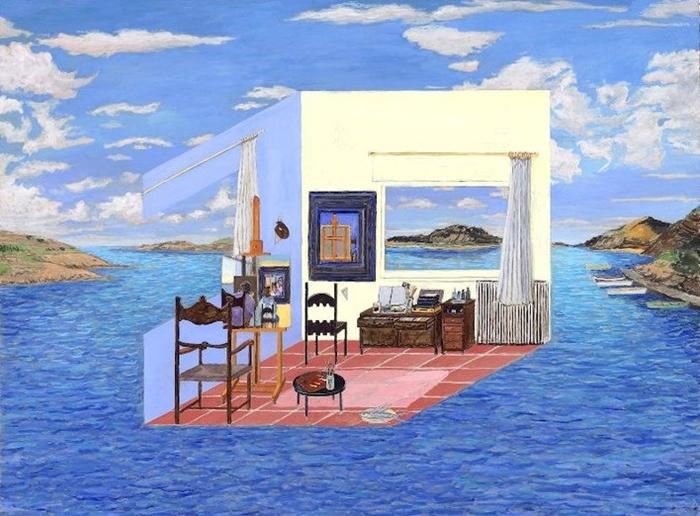 Salvador Dali's Studio - Cadaques, 1973