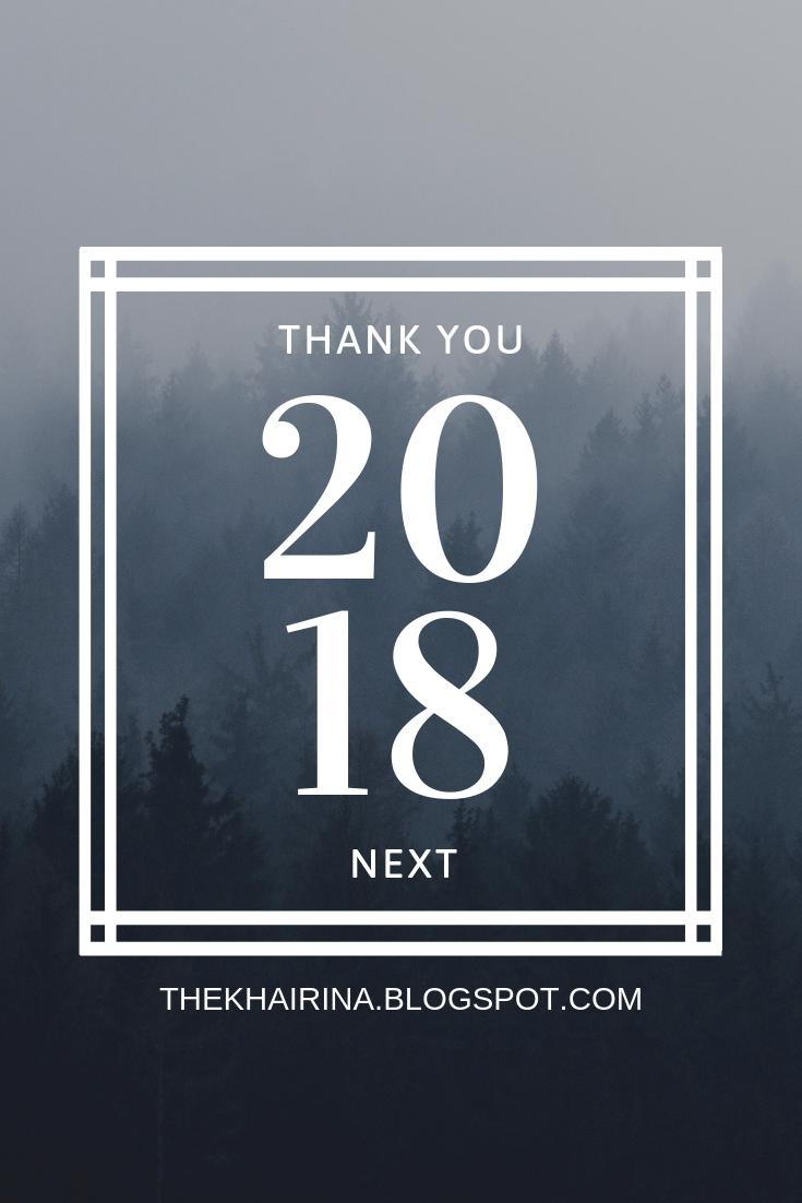Thank You 2018, Next