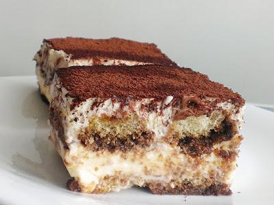 Włoski deser z mascarpone