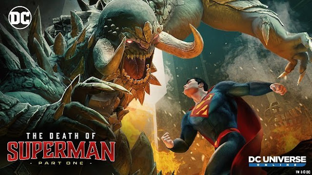 The Death Of Superman Poster HD