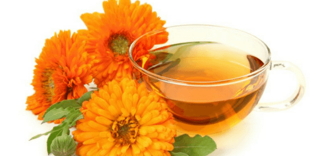 caléndula para curar las úlceras bucales
