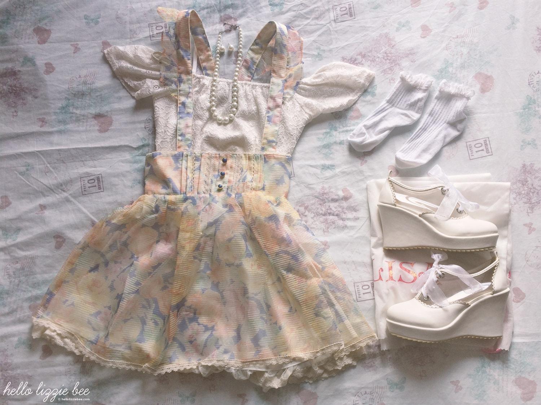 himekaji coord, liz lisa, summer outfit