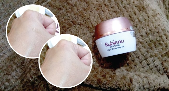 Rubiena Brightening Night Moisturizing Gel
