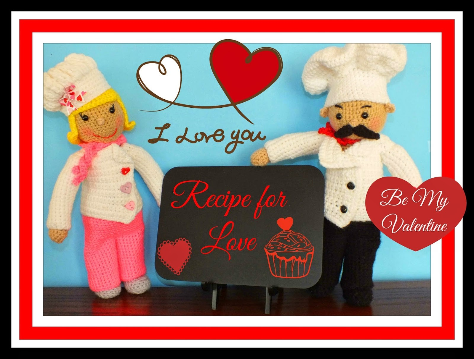 Chef Basil & Rosemary Dolls Pattern© By Connie Hughes Designs©