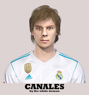 PES 2019 Faces Sergio Canales by The White Demon
