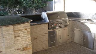 Custom Outdoor Kitchen DFW 9