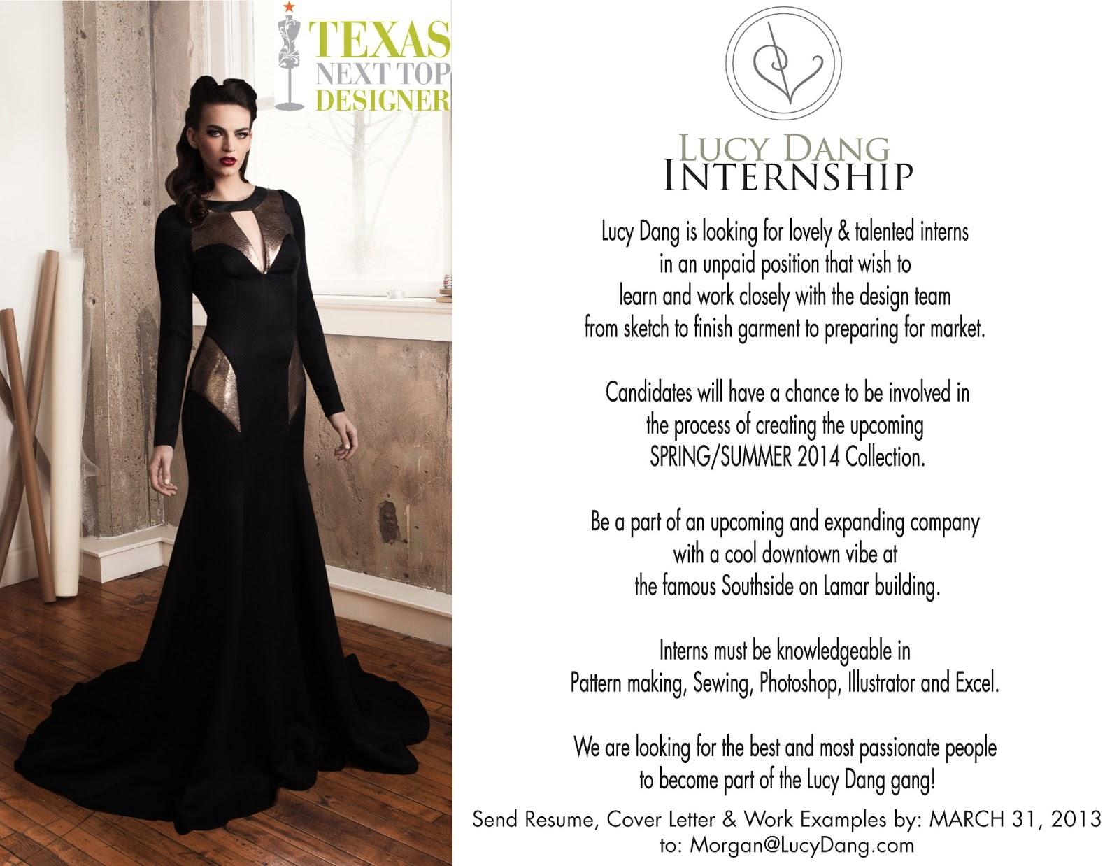 Summer Fashion Internship jobs available. See salaries, compare reviews, easily apply, and get hired. New Summer Fashion Internship careers are added daily on coolzloadwok.ga The low-stress way to find your next Summer Fashion Internship job opportunity is on Simply Hired. There are over Summer Fashion Internship careers waiting for you to apply!