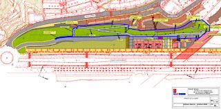 Plano del proyecto de urbanización