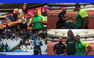 Μαθήματα ευ αγωνίζεσθαι παρέδωσε η Ελλάδα στο Παγκόσμιο Πρωτάθλημα στίβου ΑμεΑ που φιλοξενείται στο Λονδίνο.