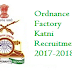 Ordnance Factory Katni Recruitment 2017-2018 Application Form www.ofbindia.gov.in