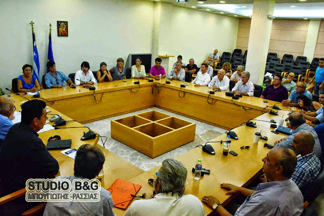 Συνεδριάζει το Δημοτικό Συμβούλιο στο Ναύπλιο με 24 θέματα