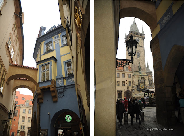 Casco antiguo de Praga