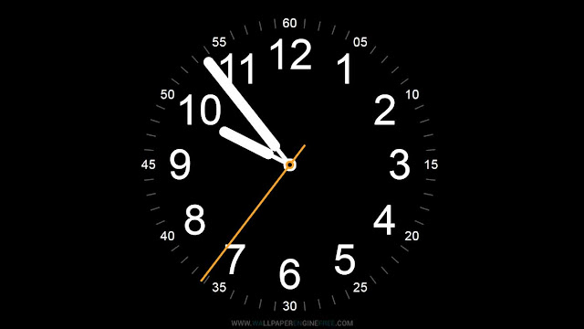 Apple Watch Clock Wallpaper Engine