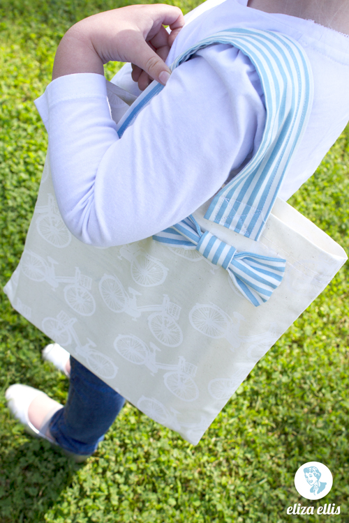 Simple & Pretty Girl's Tote by Eliza Ellis